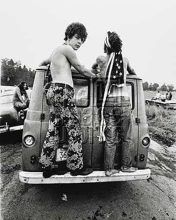 2 Woodstock Hippies 1969 Photos Bilder Land