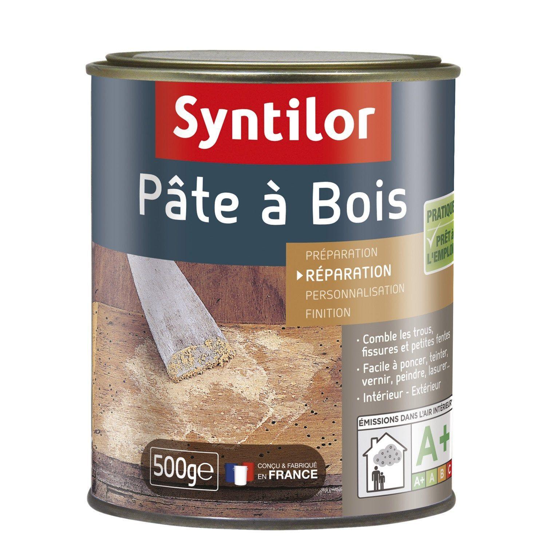 Pate A Bois Syntilor Naturel 500 G Pate A Bois Bois Et Acajou