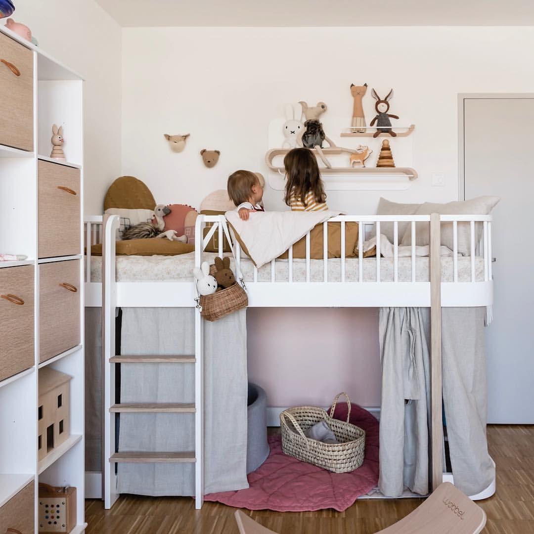 Kinderzimmer Kinderbett Hochbett Oliver Furniture Hochbett