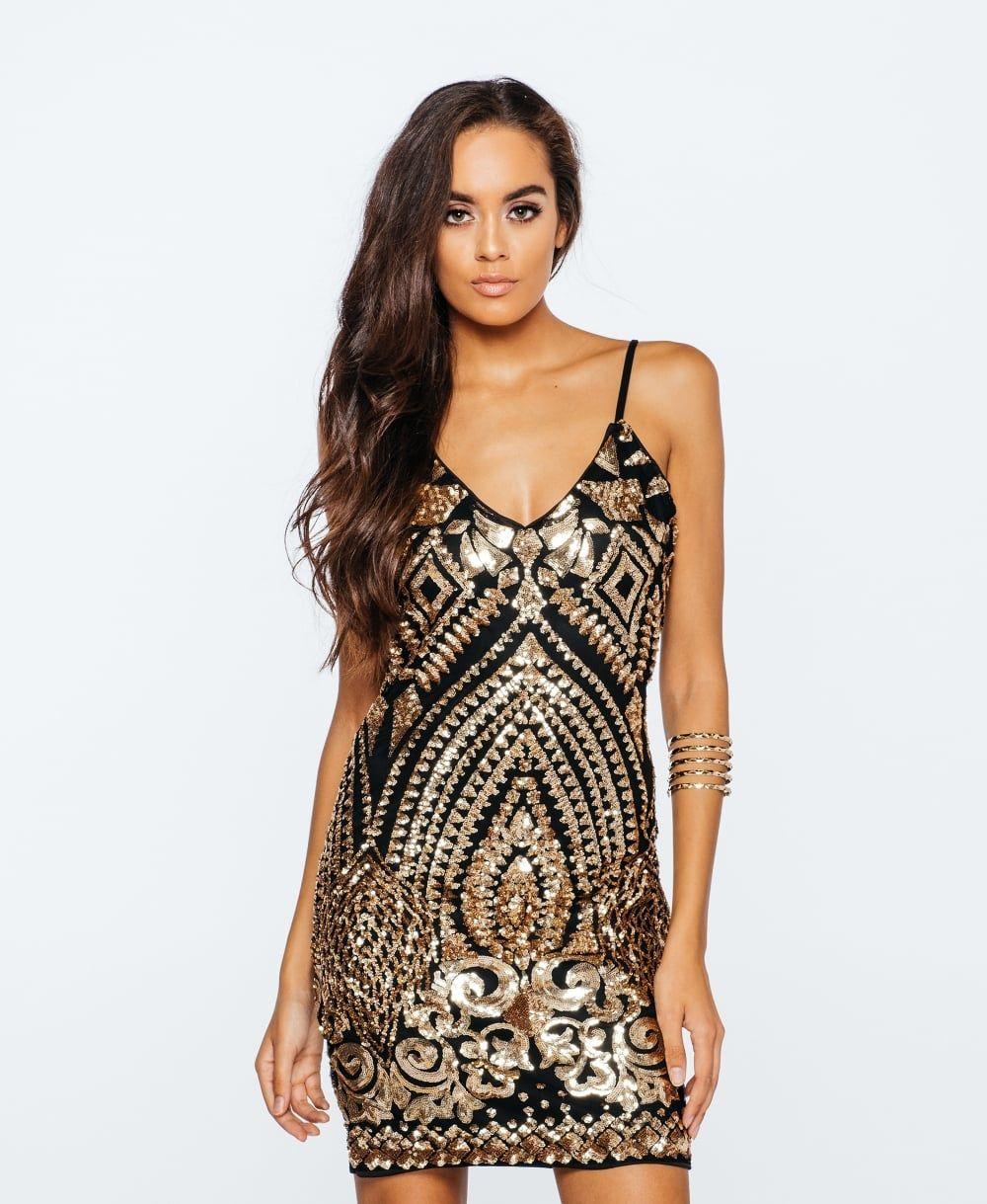 5212bb0156 Sukienka z cekinami Shine