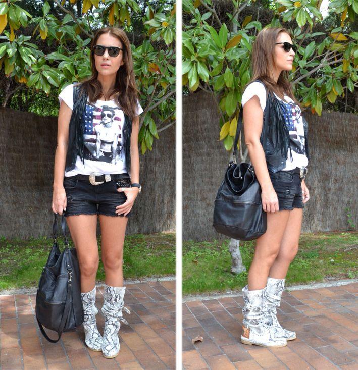 Paula Echevarría con bolso de Hakei en su blog. http://bit.ly/KNlKb2