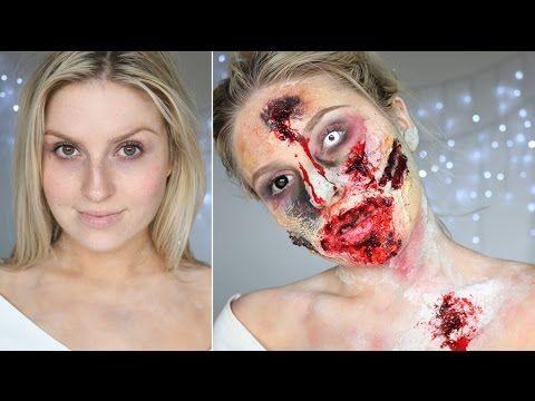 Scary #Zombie : Best #Halloween Makeup Tutorial Videos and ...