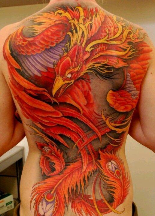 Phoenix Tattoos Tatouage Tatouage Phoenix Tatouage Dos