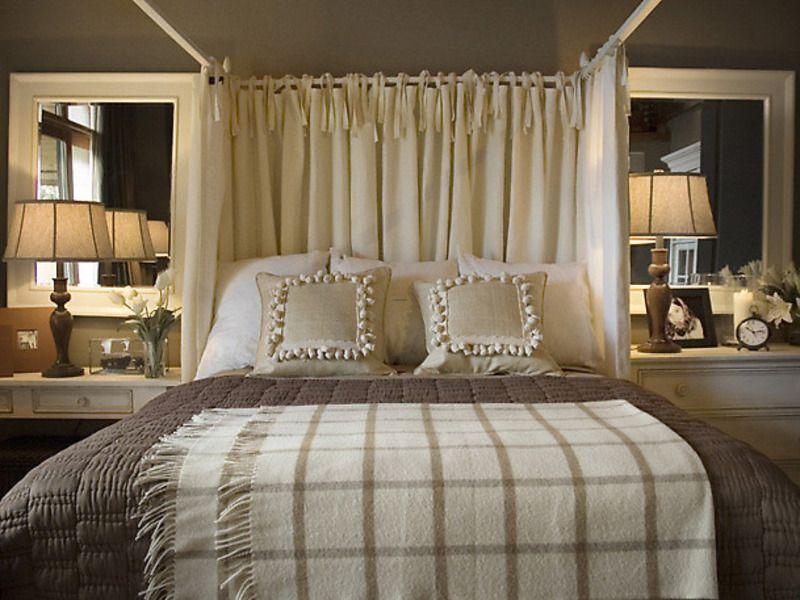 Romantisches Schlafzimmer Design #Schlafzimmer