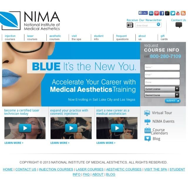 Find out why Blue Is The New You! Visit our website to stay up to