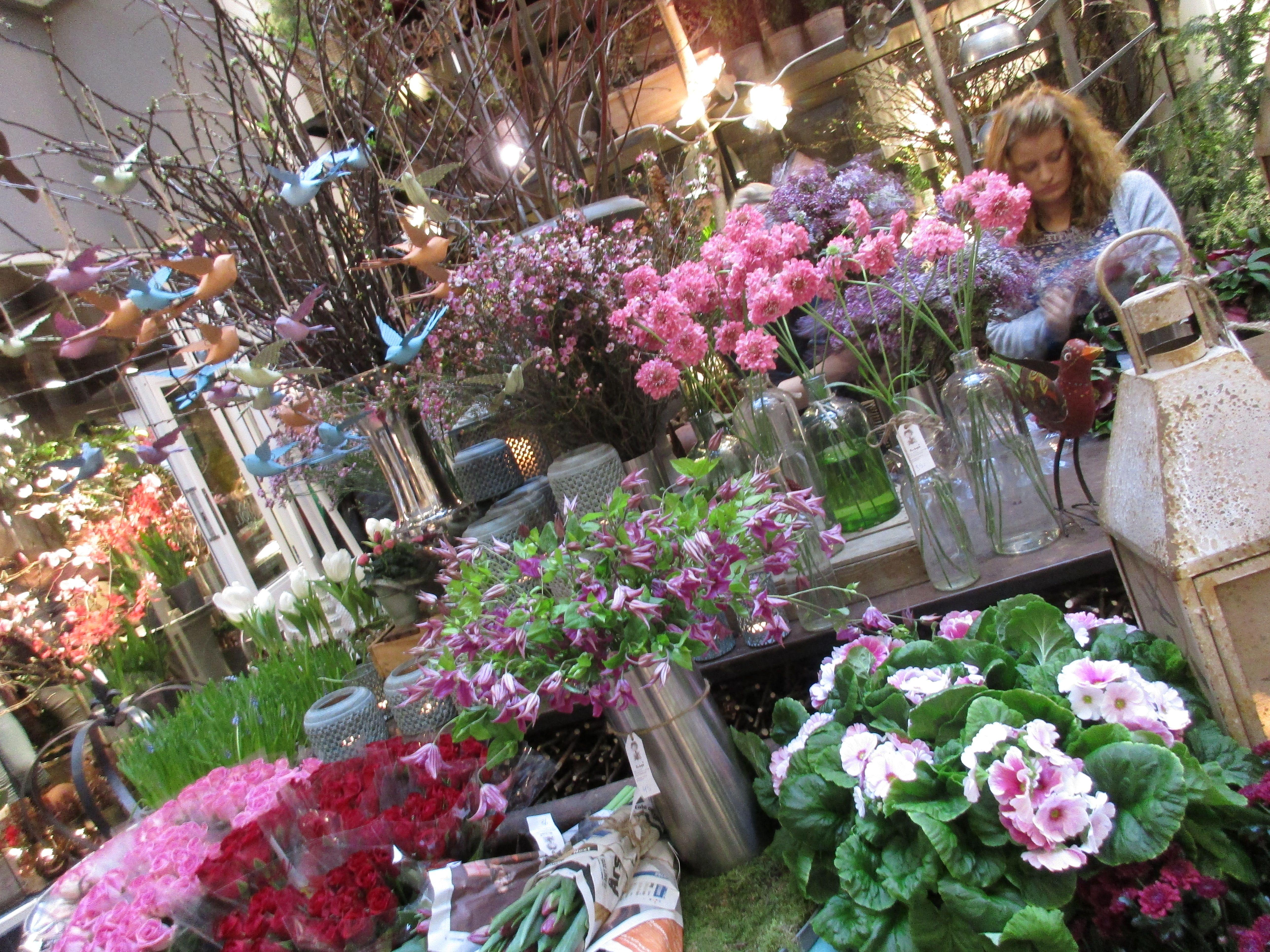Masse pynt og blomster
