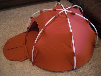 Hula Hoop Dome Tent This amazing craft tutorial from Obsessively Stitching shows you how to make a child-sized dome tent using a king-sized sheet and five ... & Hula Hoop Tent DIY.. seems exhausting to make but I think it ...