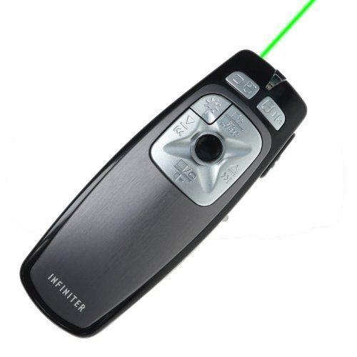 INFINITER LR22GR (Black)Wireless Remote/Mouse/Presenter