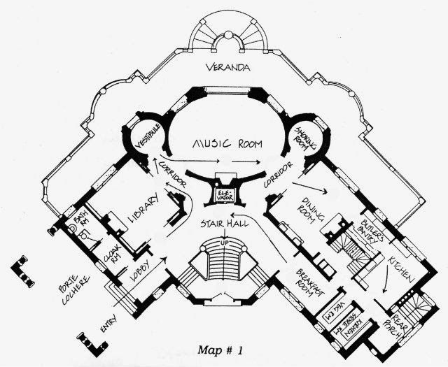 Pittock Mansion Floor Plan