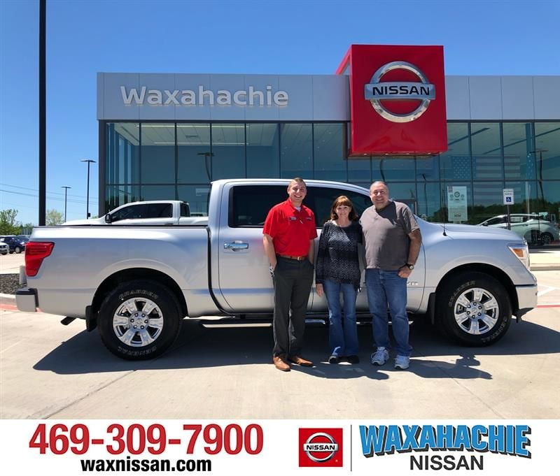HappyAnniversary to James and your 2019 Nissan Titan
