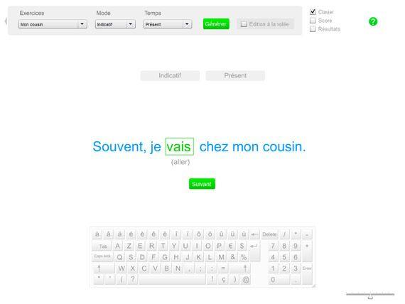 Exercices De Conjugaison Conjuguer Un Verbe Dans Une Phrase Exercices Conjugaison Conjugaison Verbe