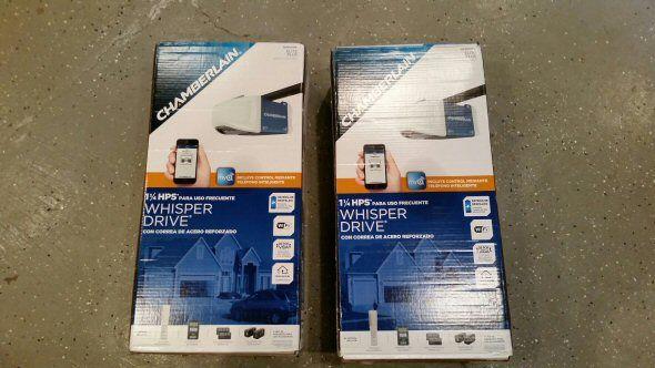Chamberlain 1-1/4 HP MyQ WiFi Garage Door Opener Review