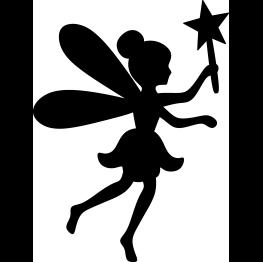Fairy simple. Silhouette free svg files