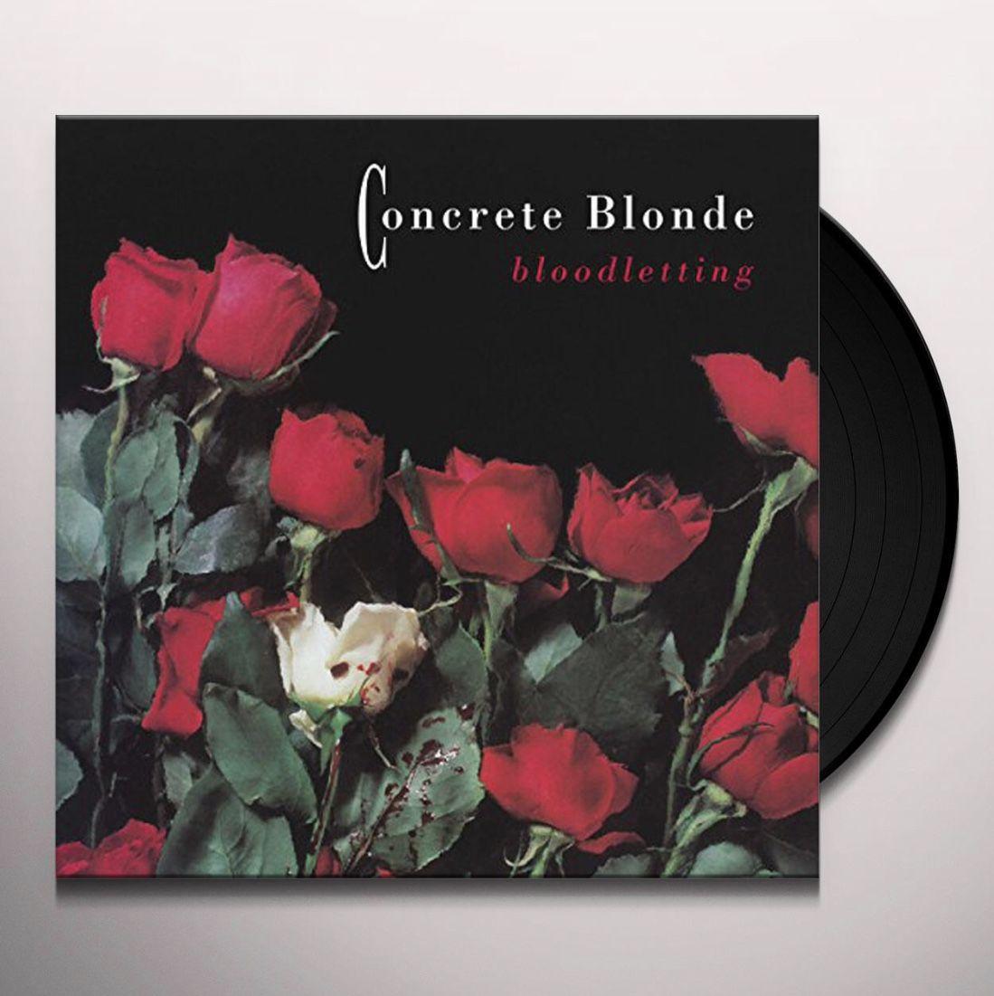 Concrete Blonde Bloodletting 2018 Reissue Lp Book Cover Vinyl Concrete