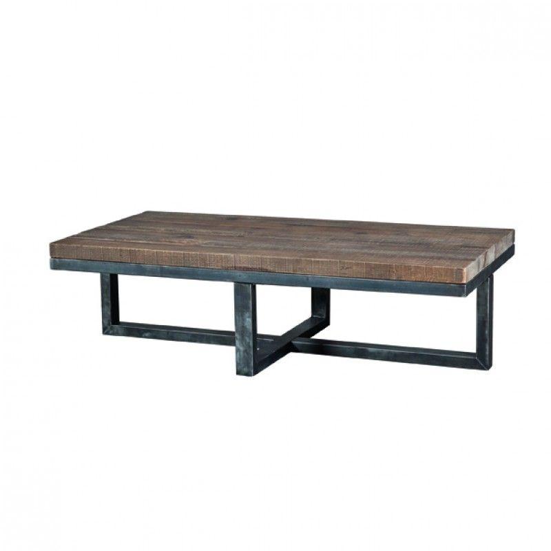 Aada | Sohvapöytä Pine 11250 | Sohvapöytä Rautajalalla