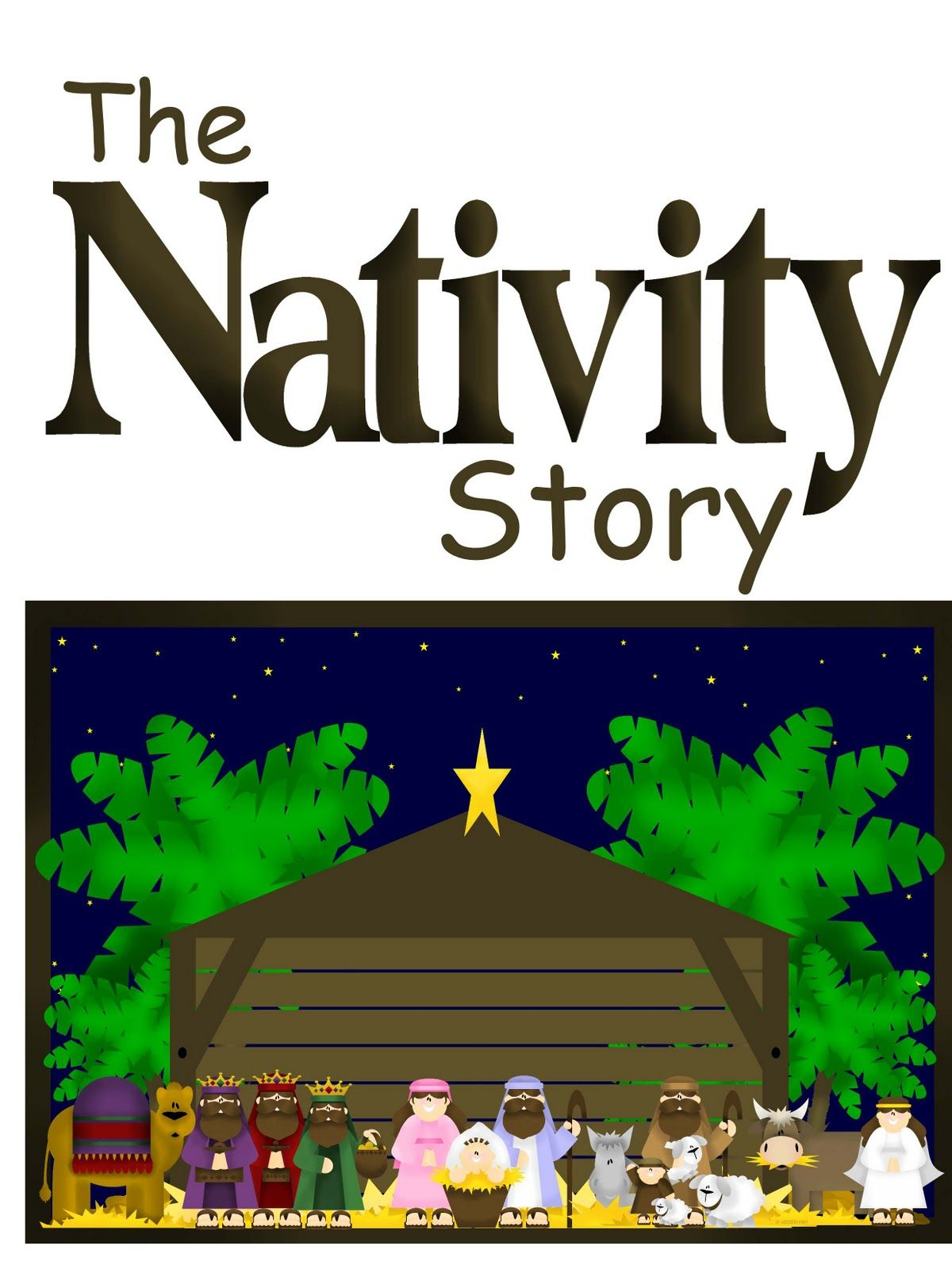 The Nativity Play! Christmas plays for kids, The