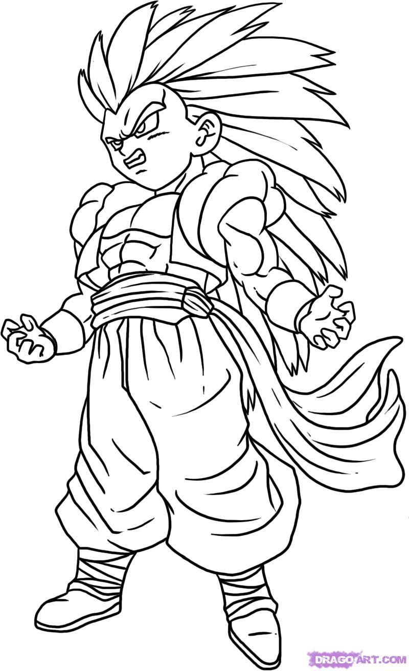 112 Dibujos De Dragon Ball Z Para Colorear Oh Kids Page 5 Dibujos Dibujos De Dragon Dibujo De Goku