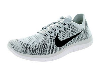 Nike Mens Free 4.0 Flyknit Running Shoes (Pure Platinum) ...
