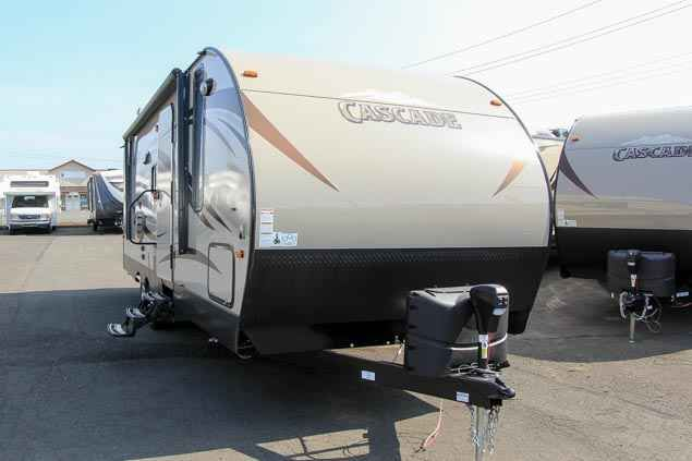 2016 New Forest River CASCADE Travel Trailer in Washington WA.Recreational Vehicle, rv, 2016 FOREST RIVER CASCADE, This new 2016 Forest River Cascade 254Q is equipped with one slide out, space and wiring for a TV in the entertainment center, interior ster