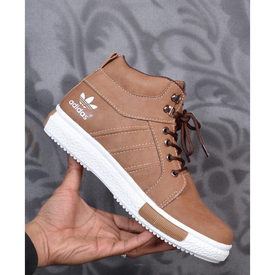 Zimzam Chasker Sepatu Pria Casual Boots Formal Coklat Tua