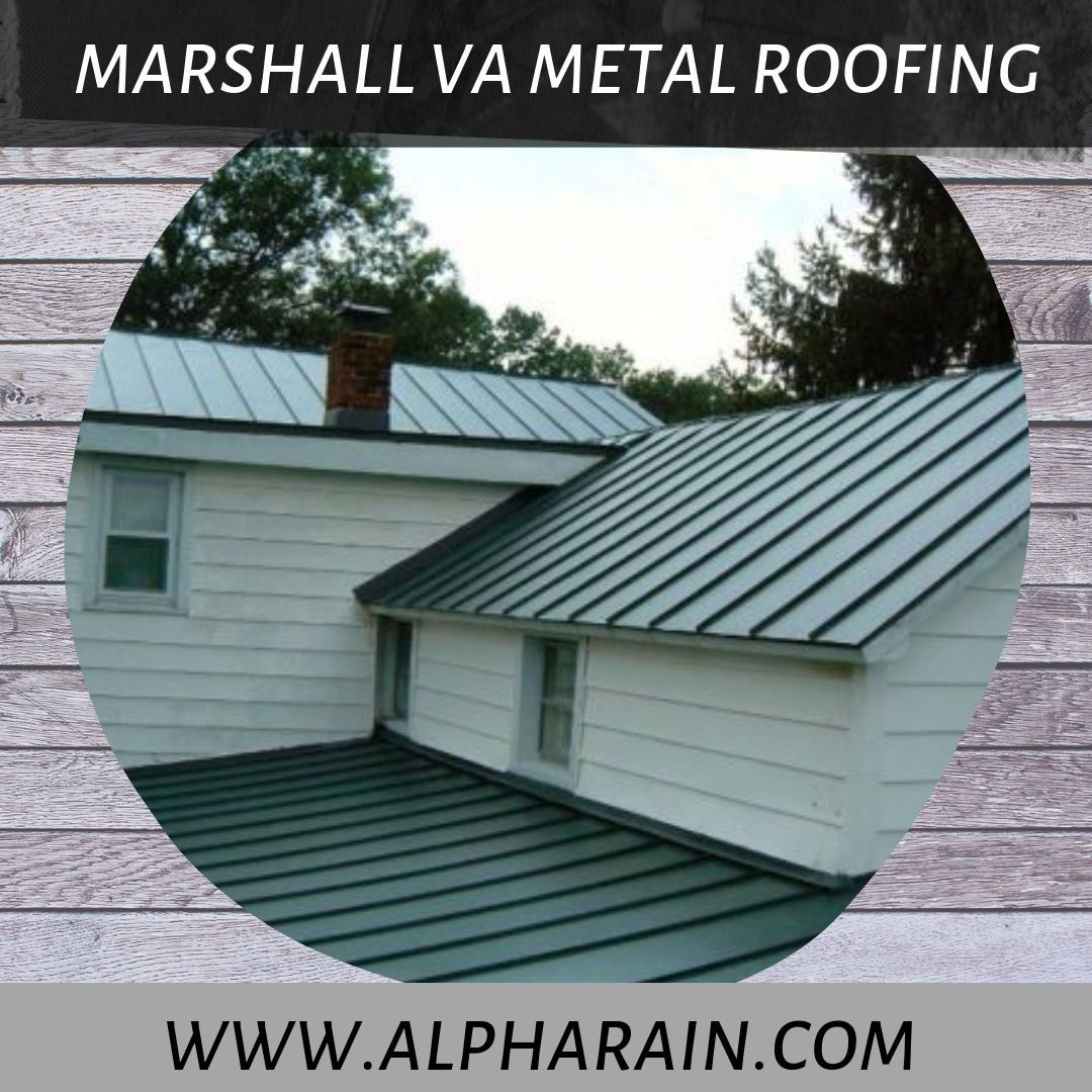 Energy Efficient Marshall Va Metal Roofing Metal Roof Roofing Solar Powered Fan