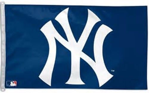 NY Yankees Banner Flag 3' x 5' New Free Shipping