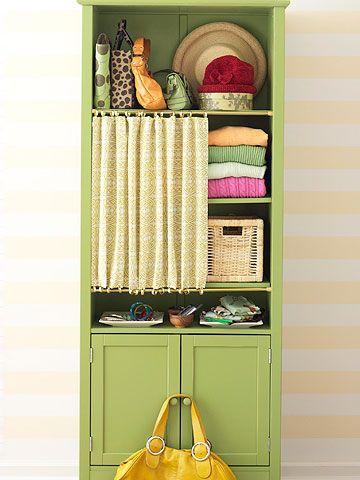 Bookcase Closet
