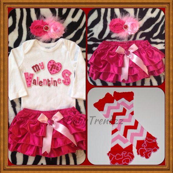 first valentines day baby girls valentine outfit by babytrendzz - Girls Valentine Outfits