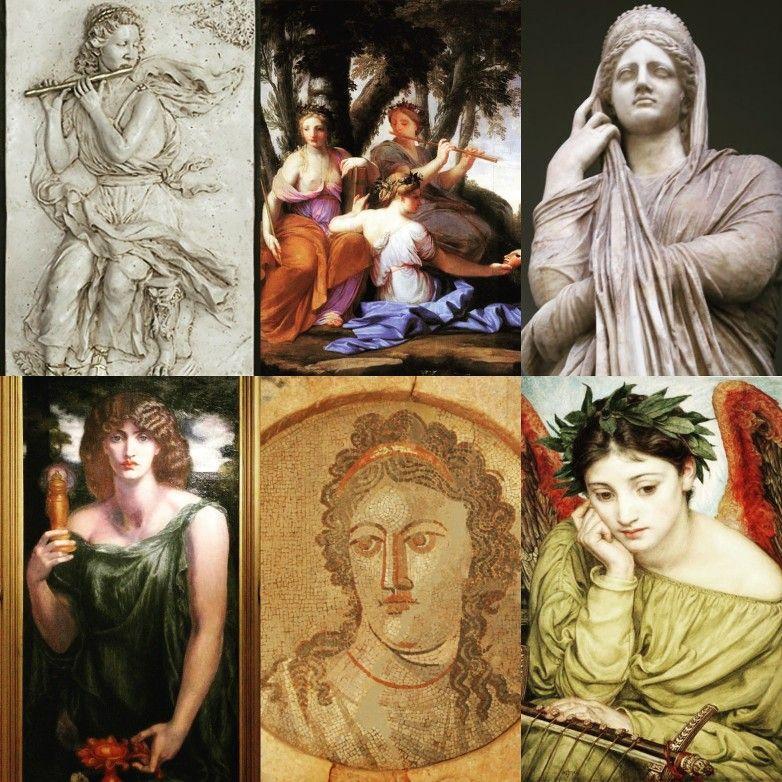 MNEMÓSINE/MNEMOSINA: Titánide de la memoria. Hija de Urano y Gea. Tuvo con  Zeus a las Musas: *Calíope (poesía épic… | Mitologia griega, Mitología  romana, Mitología