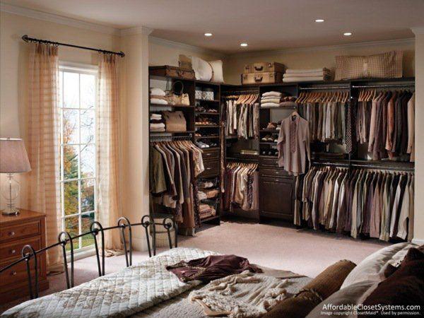 26 belles suggestions d\u0027aménagement dressing - une solutions - modele chambre a coucher