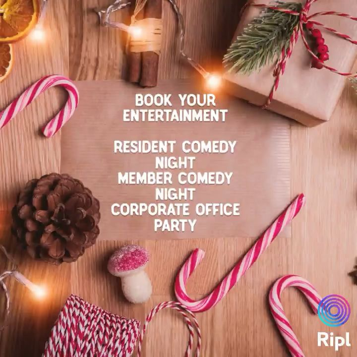 Time is running out! Book a hilarious and professional comedian now! #residentevents #weloveourresidents #corporateevents #countryclubs #holidayevents