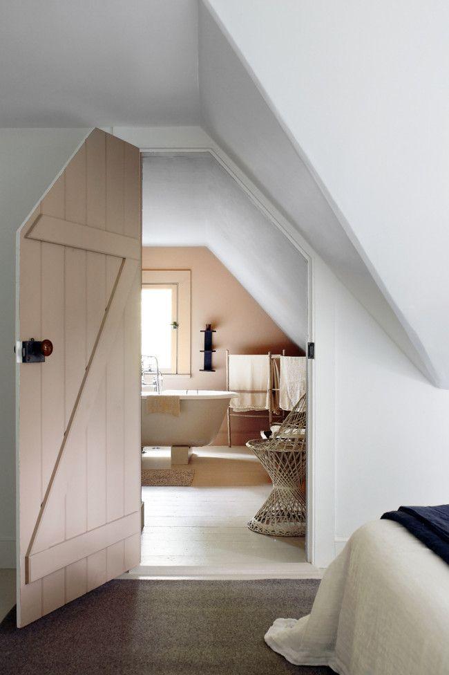 attic bath Attic Room Ideas Pinterest Attic, Doors and Bath