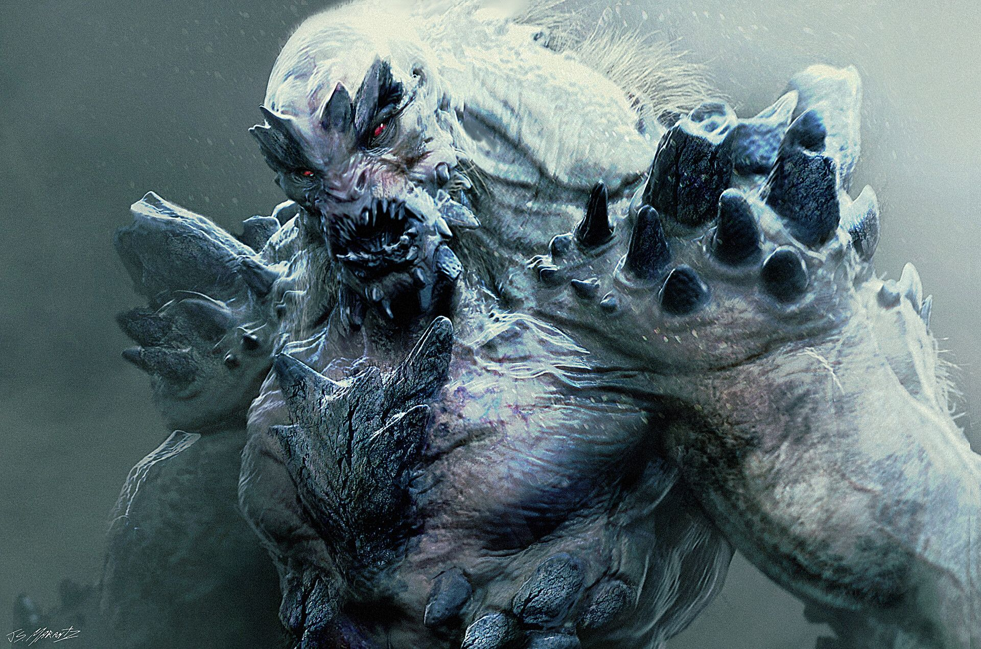ArtStation - DOOMSDAY Conceptart for Batman vs. Superman, Jerad Marantz | Superman doomsday, Batman vs, Doomsday