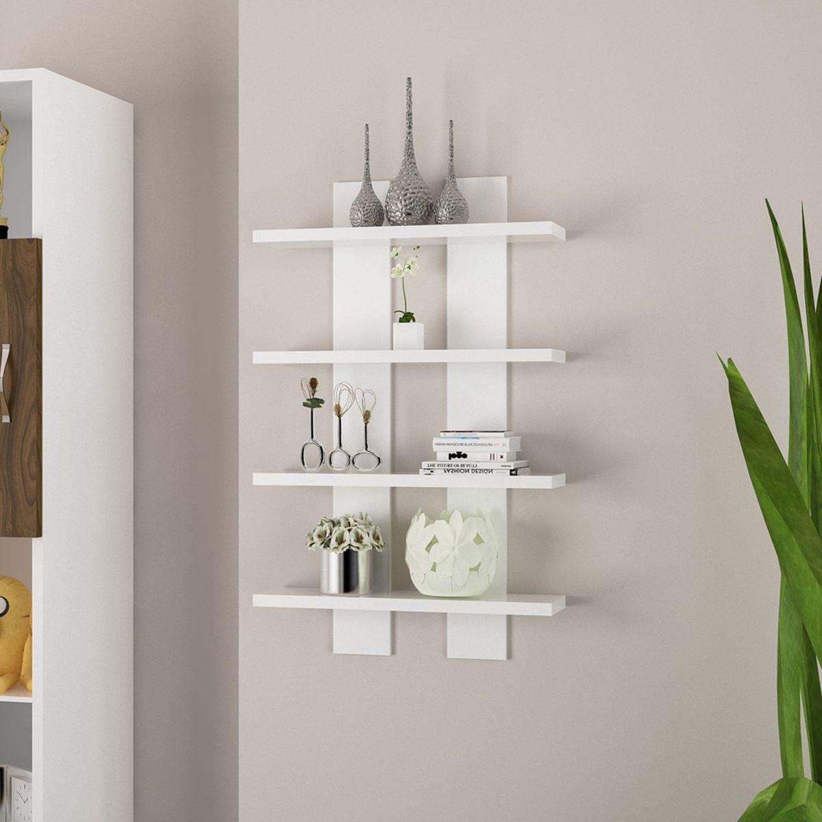 Etagere Murale Design Nergis In 2020 Shelves Floating Shelves