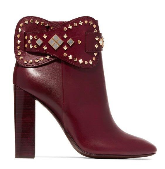 Natter with Sawyer - Tory Burch Studded Boots
