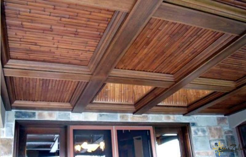 Ceiling Made Of Bamboo Slats Absolutely Beautiful Learn More About Amazulu S Bamboo Slats At Http Www Amazuluinc Com Ba Bamboo Ceiling Bamboo Poles Bamboo
