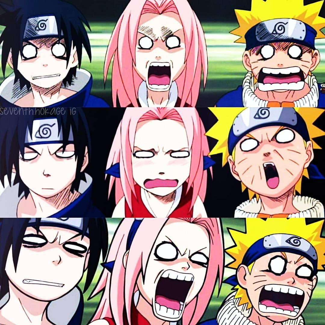 Polubienia 2 211 Komentarze 11 Naruto Uzumaki Sumi Seventh Hokage Na Instagramie Team 7 S Reaction To Guy And Lee Animasi Gambar Manga Komik Lucu