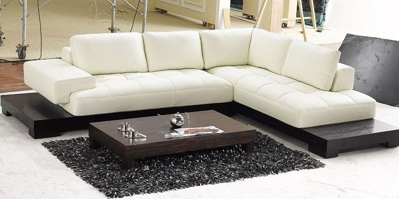 Low Height L Shaped Sofa