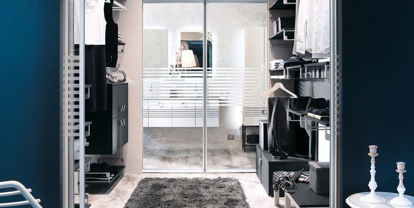 1000 images about home suite parentale on pinterest dividing wall zen and master bedroom plans - Modele Suite Parentale Avec Dressing Et Salle De Bain