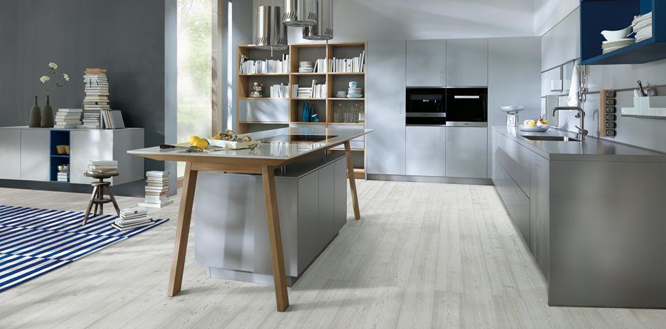next125 - NX 800 Solid steingrau Küche \ Eßzimmer Pinterest - k che mit esszimmer