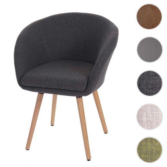 Mendler - Chaise de salle à manger Malmö T633, fauteuil, design - table de salle a manger grise