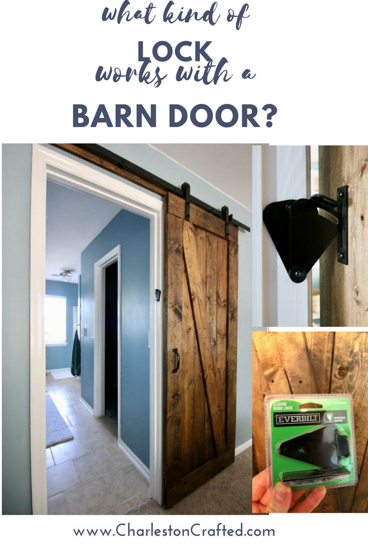 How To Add A Barn Door Lock Barn Door Locks Diy Sliding Barn