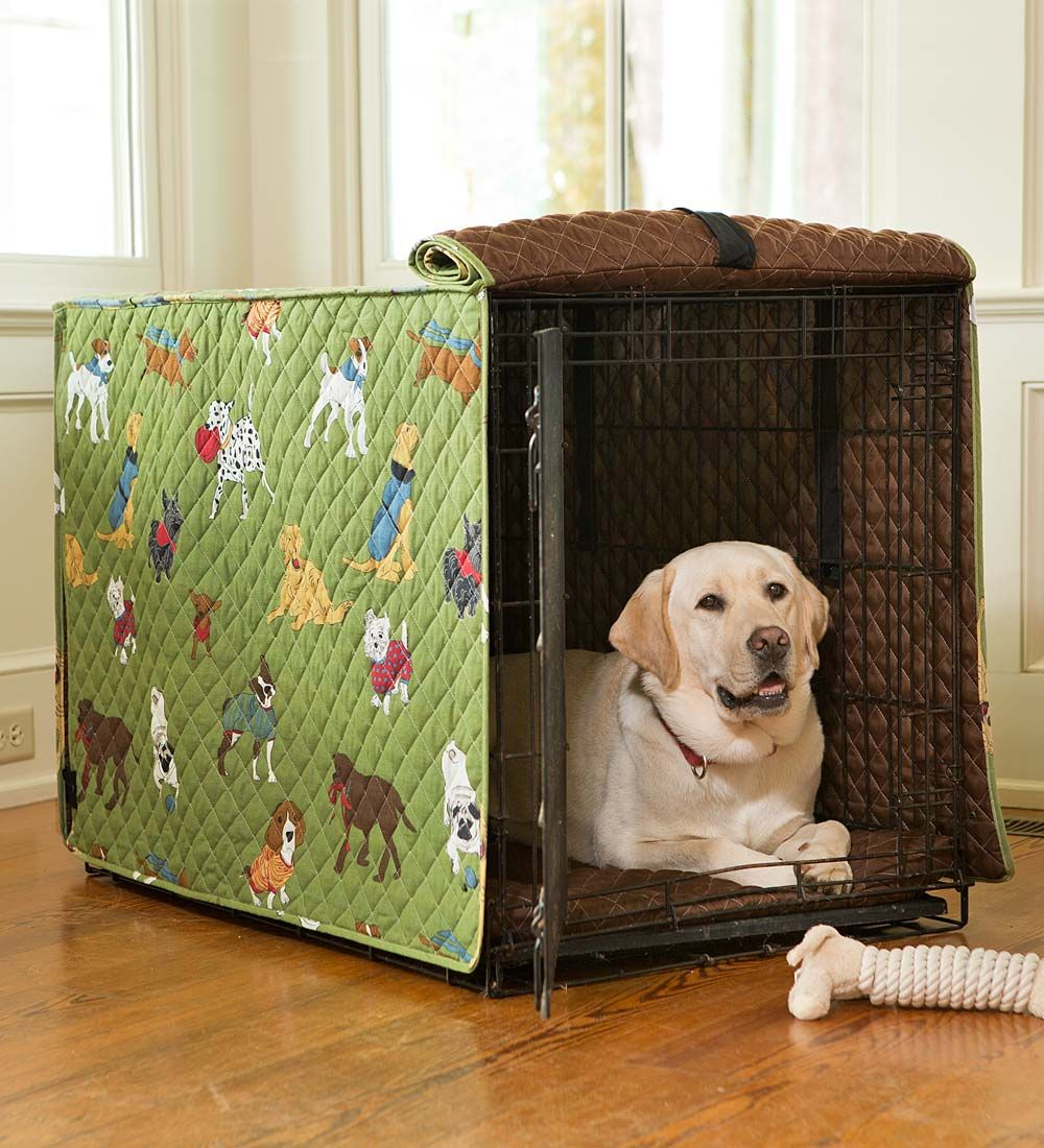 Doggone Good Time Dog Crate Cover Cover your dog's crate