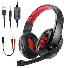Best Gaming Headset Gamer casque Deep Bass Gaming Headphones for PS4 Xbox One Computer PC Lap…