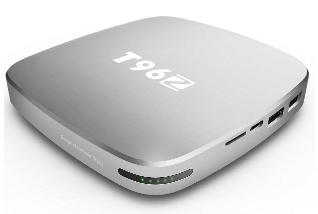 T96Z TV Box with 4GB RAM DDR4 and 64GB eMMC powered by Rockchip