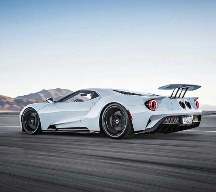 Pure White Ford Gt 50 Ford Gt Super Cars Super Sport Cars