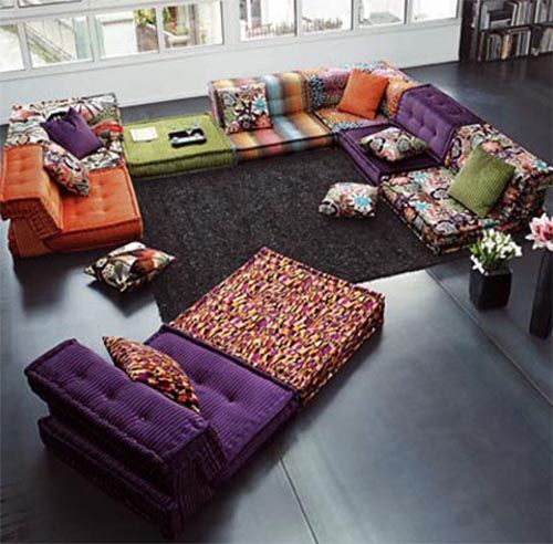Creative Furniture Ideas For Living Room Interior Design Living Room Colorful Furniture Living Room Designs