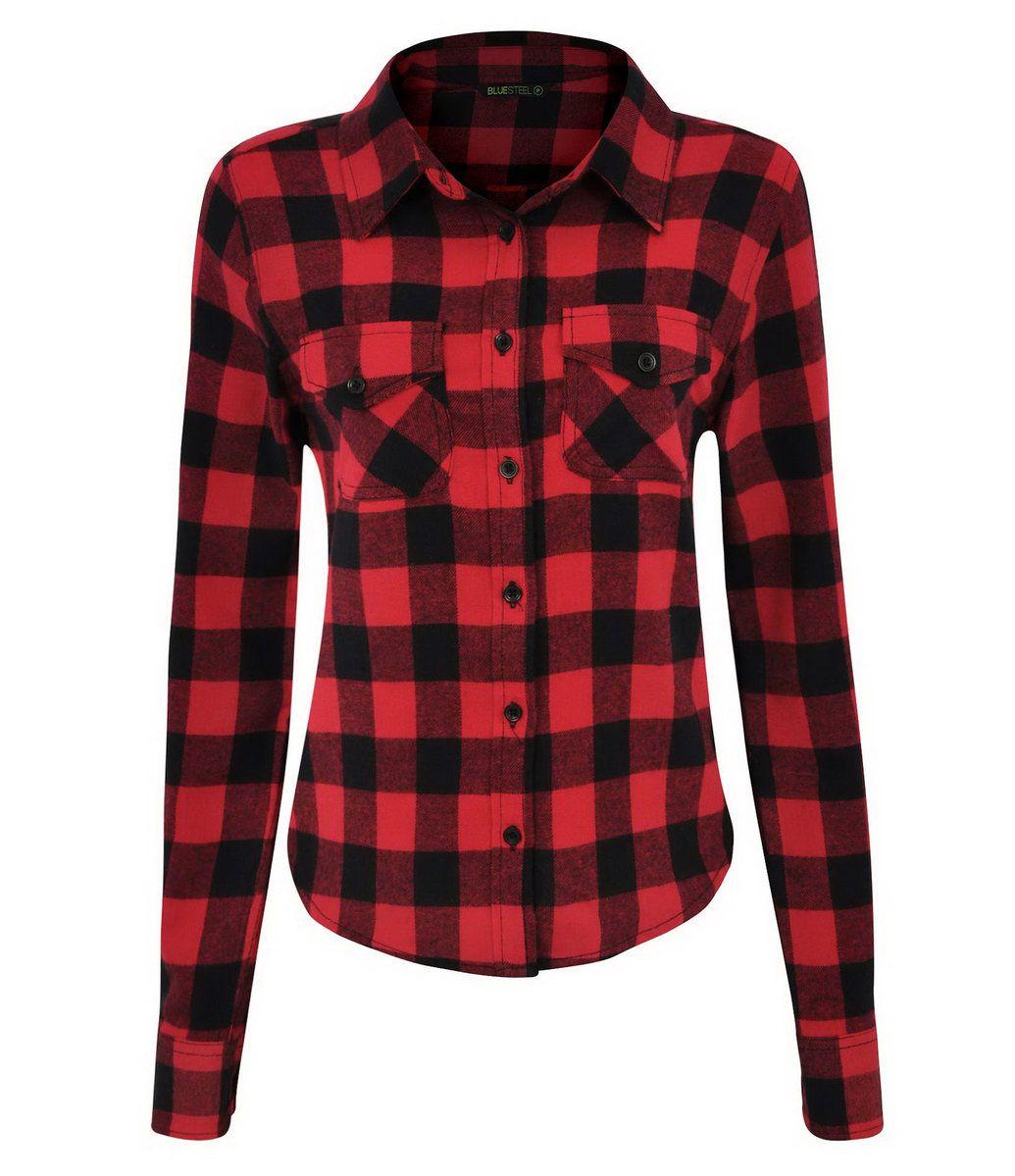 bd6a370b70 Camisa Feminina Xadrez em Flanela - Lojas Renner … | clothes/stuff ...