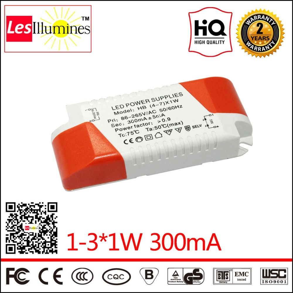 Led Driver Transformer Indoor Used Ce Rohs Approval Ac110 220v To 1w Dc2 12v 300ma 1 31w Power Supply For Ceiling Light
