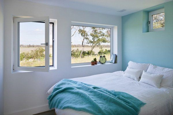 small yet bright bedroom